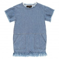 Finger In The Nose - Bubble Denim Dress