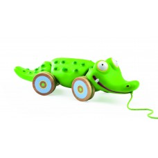 Djeco - Croc'n'roll Pull-Along Toy