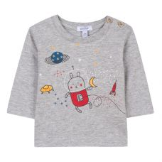 Absorba - Baby Boys Space Rabbit T-Shirt