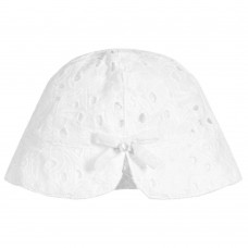 Tartine et Chocolat - Baby Girls White Sun Hat