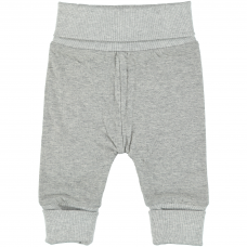 Stella McCartney Kids - Baby Boys Grey 'Feather' Tracksuit Bottoms