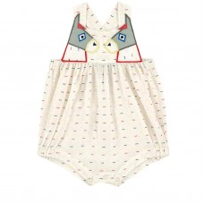 Stella McCartney Kids - Baby Girls Dotted Voile 'Yvette' Playsuit