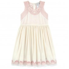 Stella McCartney Kids - Girls Ivory 'Bay' Dress