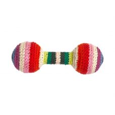 Anne-Claire Petit - Multi Stripe Baby Rattle
