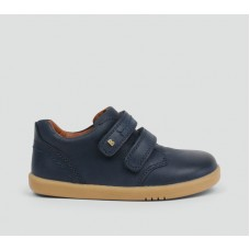 Bobux - Boys 'Port' Navy Blue Dress Shoes