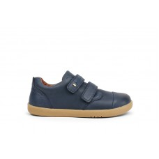 Bobux - Boys Port Navy Blue Dress Shoes