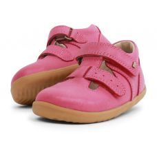 Bobux - Baby Girls Pink 'Jack & Jill' Shoes
