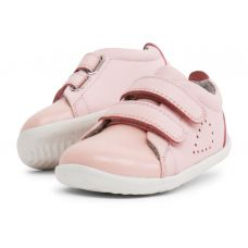 Bobux - Baby Girls Seashell Pink 'Grass Court' Casual Shoes