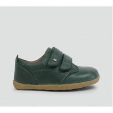 Bobux - Boys Port Forest Green Dress Shoe