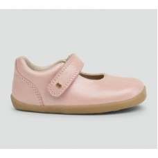 Bobux - Girls 'Delight' Blush Mary Jane Shoe
