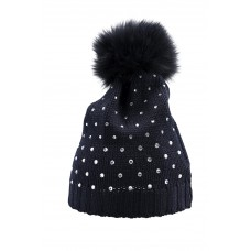 Bimbalo  - Girls 'Cappello' Navy Embellished Hat