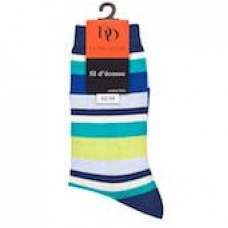 Dore Dore - Navy Stripes Socks