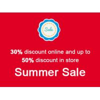 SUMMER SALE! It's a super hot summer at Joujou & Lucy