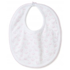 Kissy Kissy - Baby Girls 'Ele-fun' Print Reversible Bib