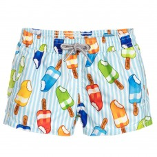 MC2 Saint Barth - Boys 'Rainbow Frozen' Swim Shorts