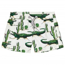 MC2 Saint Barth - Boys 'Crocodile Cactus' Swim Shorts
