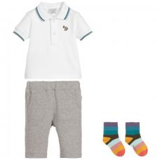 Paul Smith Junior - Baby Boys Cotton Trousers Gift Set