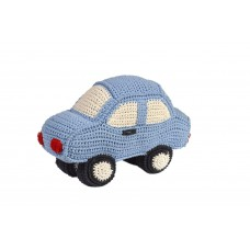Anne-Claire Petit - Sky Blue Car Rattle Toy