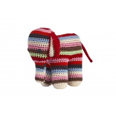 Anne-Claire Petit - Multi Stripes Crochet Elephant