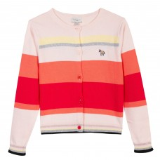 Paul Smith Junior - Baby Girl 'Rosine' multi striped cardigan