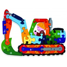 Alphabet Jigsaws - Digger