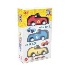Le Toy Van - 3 Pull Back Racers