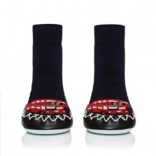 Moccis -  Unisex Black & Red London Calling