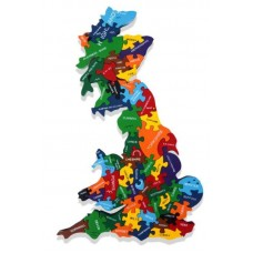 Alphabet Jigsaws - Map Of Britain