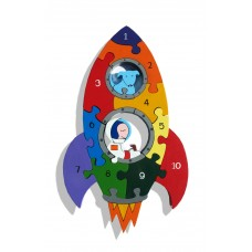 Alphabet Jigsaws - Number Rocket