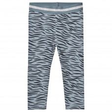 Stella McCartney Kids - Blue Tiger Print Tula Leggings