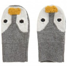 Stella McCartney Kids - Mopsey Penguin Baby Mittens