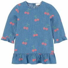Stella McCartney Kids - Baby Girls Cherry Chambray Dress