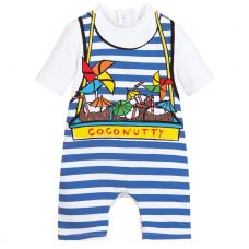 Stella McCartney Kids - Baby Boys 'Coconutty' Swimsuit
