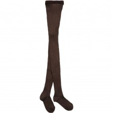Dore Dore - Brown Ribbed Tights