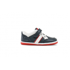 Bobux - Navy & Red Racer Sports Shoes