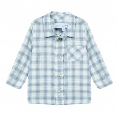 Tartine Et Chocolat Blue Checked Shirt