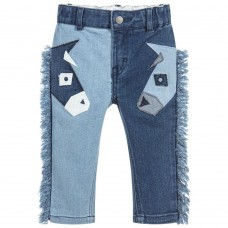 Stella McCartney Kids - Unisex 'Bob' Denim Trousers